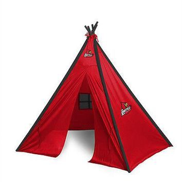 Louisville Cardinals Teepee Play Tent