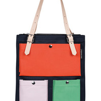 Bags and Accessories: Toimi in navy,tomato,green,pink | Marimekko Store