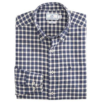 Cutwater Check Button Down Shirt by Southern Tide
