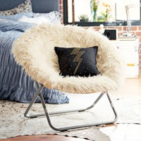 Ivory Furlicious Hang-A-Round Chair