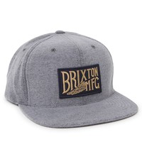 Brixton Coventry Snapback Hat - Mens Backpack - Gray - One