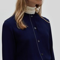 Marni / Longsleeve Foulard Shirt in Ink