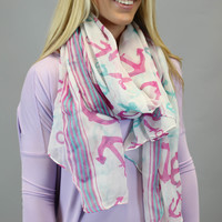 Hey There Anchor Scarf
