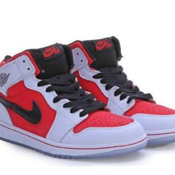 White Red Black-Women Air Jordan 1