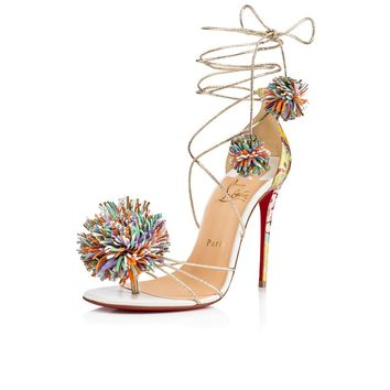 Starouchi 100 Version Multi Tissu Kyoto - Women Shoes - Christian Louboutin
