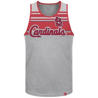Majestic St. Louis Cardinals Sweeping Series Tank Top