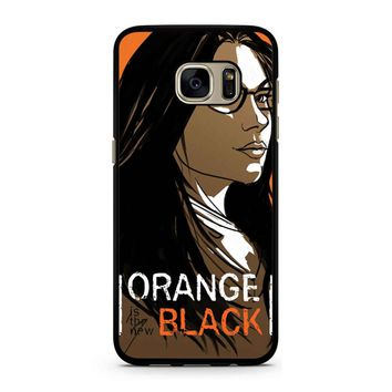Orange Is The New Black Alex Vause 3 Samsung Galaxy S7 Case