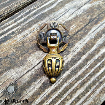 Antiqued Brass Teardrop Pull Vintage Drawer Pulls Brass Drawer Pulls Decorative Drawer Pulls Handles Cabinet Pulls KBC Pendant Dresser Pulls