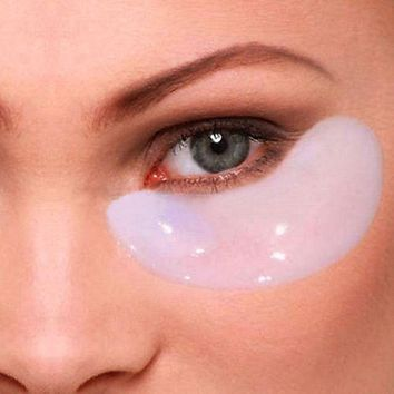 20pcs Crystal Collagen Eye Mask Crystal Eyelid Patch Anti Wrinkle Moisture Under Eye Dark Circle Remover Eye Patch