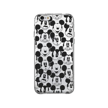 MICKEY MOUSE CLEAR PHONE CASE for iphone 4s/5s/6s/6s plus