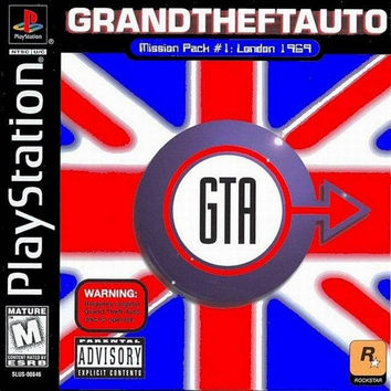 Grand Theft Auto London Mission Pack - Playstation (Very Good)