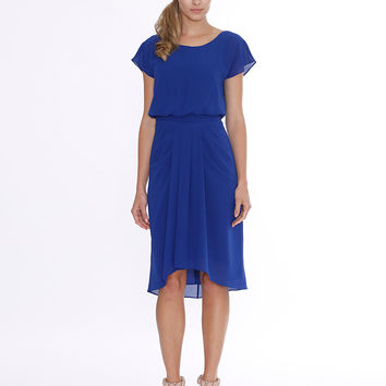 Pink Ruby Australian Designer Blue On The Chase Dress