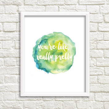 Mean Girl Quote - Print