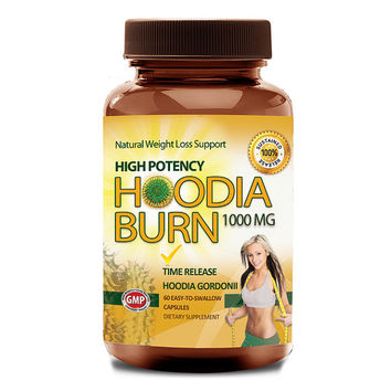 Totally Products High Potency 1000mg Hoodia Burn (60 Tablets) - suppress your appetite and cravings safely