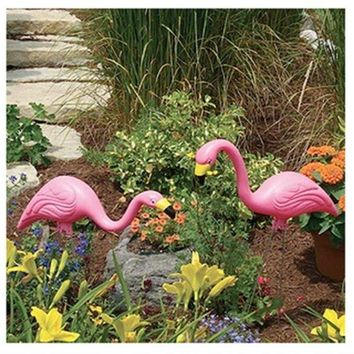 Bloem T6197 Stately Pink Flamingos Lawn Ornaments, 2-Pack