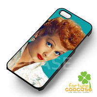 I Love Lucy Lucille Ball Vintage Phone Case -swdh for iPhone 6S case, iPhone 5s case, iPhone 6 case, iPhone 4S, Samsung S6 Edge