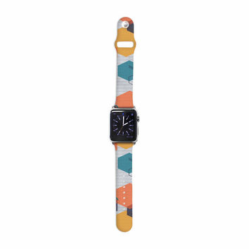 "Maike Thoma ""Biomolecular"" Science Multicolor Apple Watch Strap"