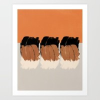 Modern minimal 03 Art Print by naturalcolors