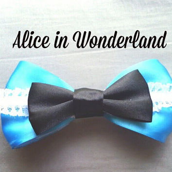 Alice in Wonderland Hairbow