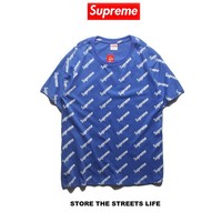 Cheap Women's and men's supreme t shirt for sale 501965868-0157
