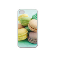 Pastel Macaroons iPhone 4/4S Case Made to Order