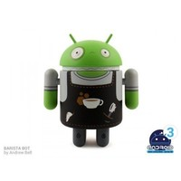 Android Mini Series 3 Barista Bot by Andrew Bell 1/16 Figure