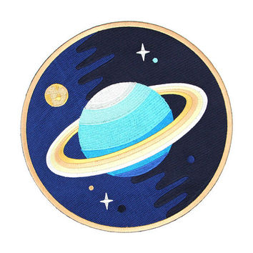 Galaxy Planet Back Patch