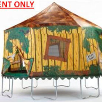 14-ft Trampoline Enclosure Tent (Tree House) - Cheap Trampoline Parts, Cheap Trampoline Springs, Cheap Trampoline Pads, Cheap Trampoline Mats