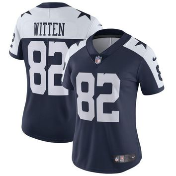 Women's Dallas Cowboys Jason Witten Nike Navy Alternate Vapor Untouchable Limited Jersey