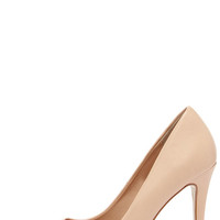 Sole Mate Nude Pointed Pumps