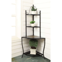 Corner Bakers Rack / Plant Stand for Indoor or Outdoor Use