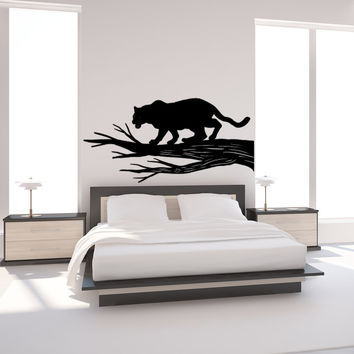 Vinyl Wall Decal Sticker Black Panther #OS_MB990