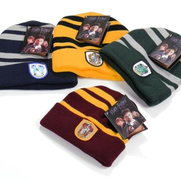 Harry Potter Winter Hat Warm Sport Beanies Knit Hats Women Knitted Ski Skullies Men Wool Caps Kids Women Men Christmas Gift