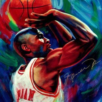 DCCKHD9 Michael Jordan Chicago Bulls Art NBA Basketball Silk Poster Art Bedroom Decoration 143