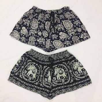 Black Elephant Shorts