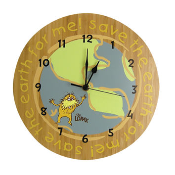 Trend Lab Wall Clock - Dr. Seuss The Lorax