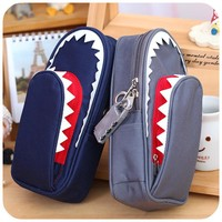 Shark Pencil Case with Lock