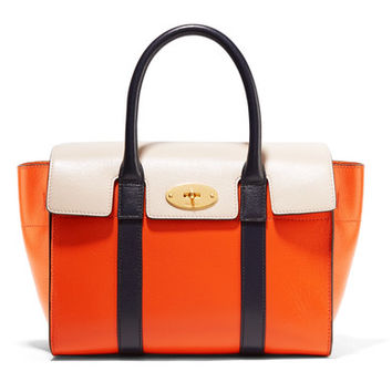 Mulberry - The Bayswater small textured-leather tote