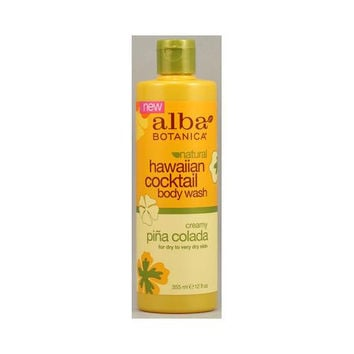 Alba Botanica Hawaiian Cocktail Body Wash Pina Colada - 12 Fl Oz