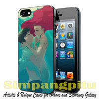 Ariel disney little mermaid for iPhone 4/4S/5/5S/5C Case, Samsung Galaxy S3/S4/S5 Case, iPod Touch 4/5 Case