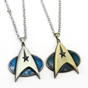 Star Trek Necklace Movie Pendant Enterprise Bottle opener Gift Jewelry Accessories