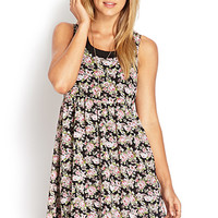 Flowy Floral Babydoll Dress
