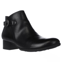Born Phobos Side Zip Ankle Boots - Black