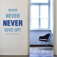 Motivation Wall Decal - Quotes Wall Stickers - CoolWallArt