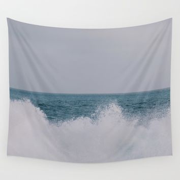 Shorebreak Wall Tapestry by Brian Biles | Society6