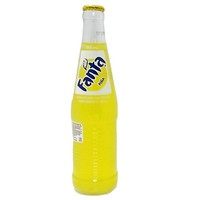 Mexican Fanta Pineapple 12 oz Bottles - Case of 12