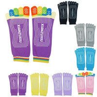 Finger Cotton Socks for Pilates and Yoga - High Quality