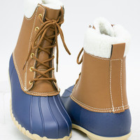 Dry & Warm Rubber Ankle Boots