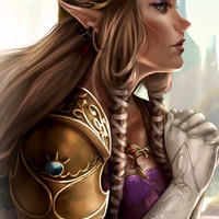 Zelda: Twilight Princess Art Print by KlsteeleArt