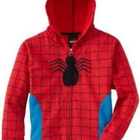 Spiderman Red Blue Costume Halloween Hoodie Sweatshirt